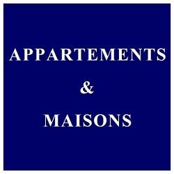 Appartements & maisons